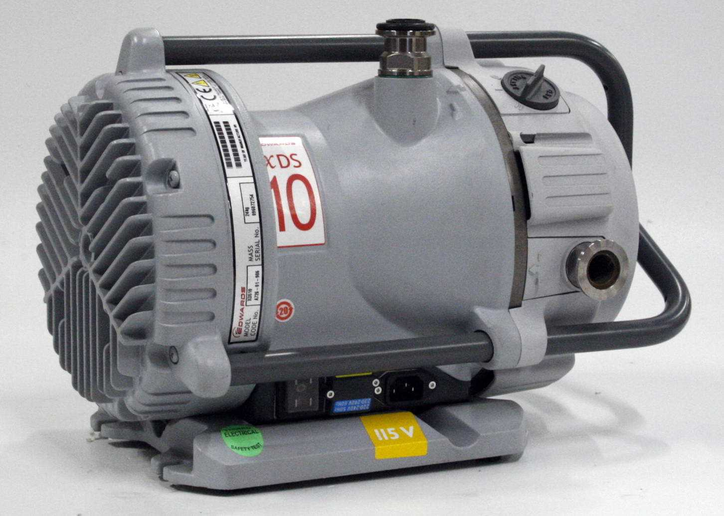 Edwards XDS10 Dry Scroll Vacuum Pump