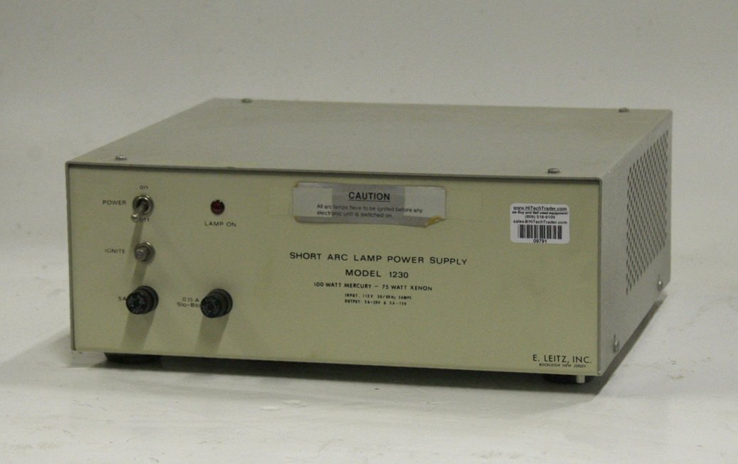 Leitz Model 1230 Short Arc Lamp Power Supply