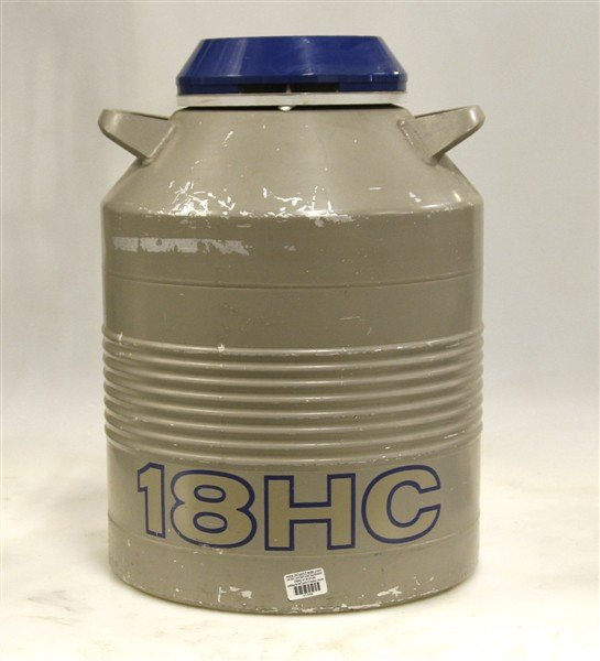Union Carbide Cryogenic Storage Unit Model 18HC