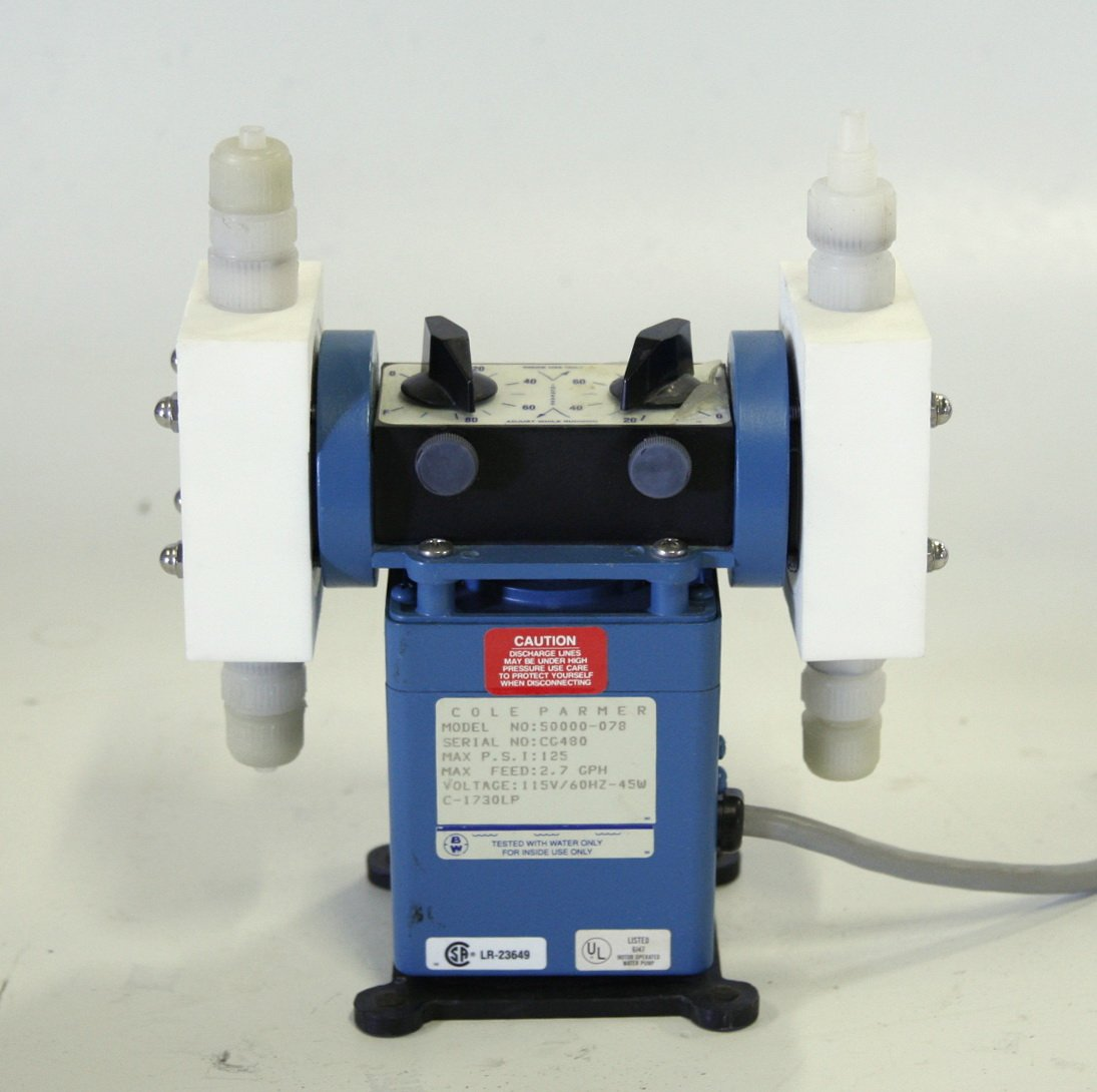 Cole Parmer Dual Diaphragm Pump