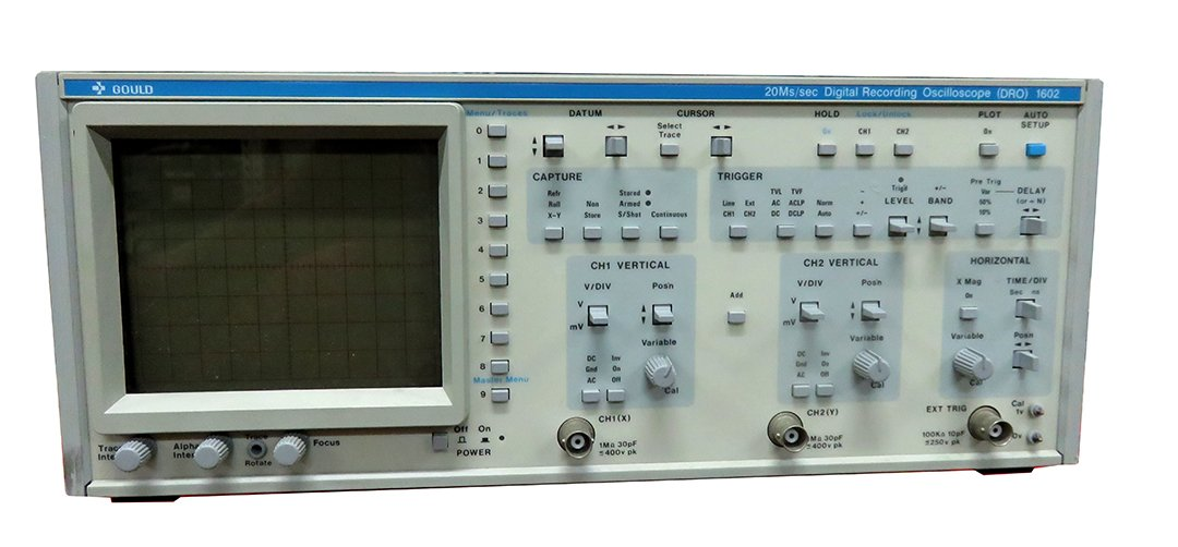 Gould 1602 20 Ms Digital Recording Oscilloscope