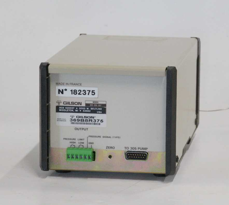 Gilson 806 Manometric Module - 1