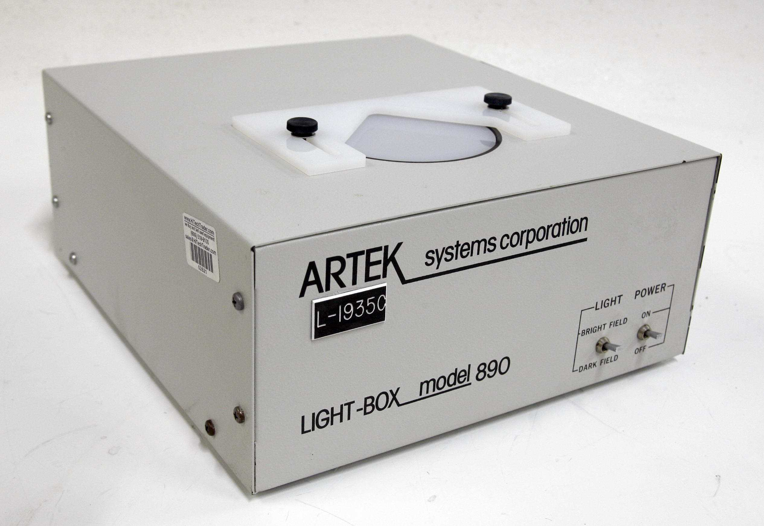 Artek Light Box Model 890