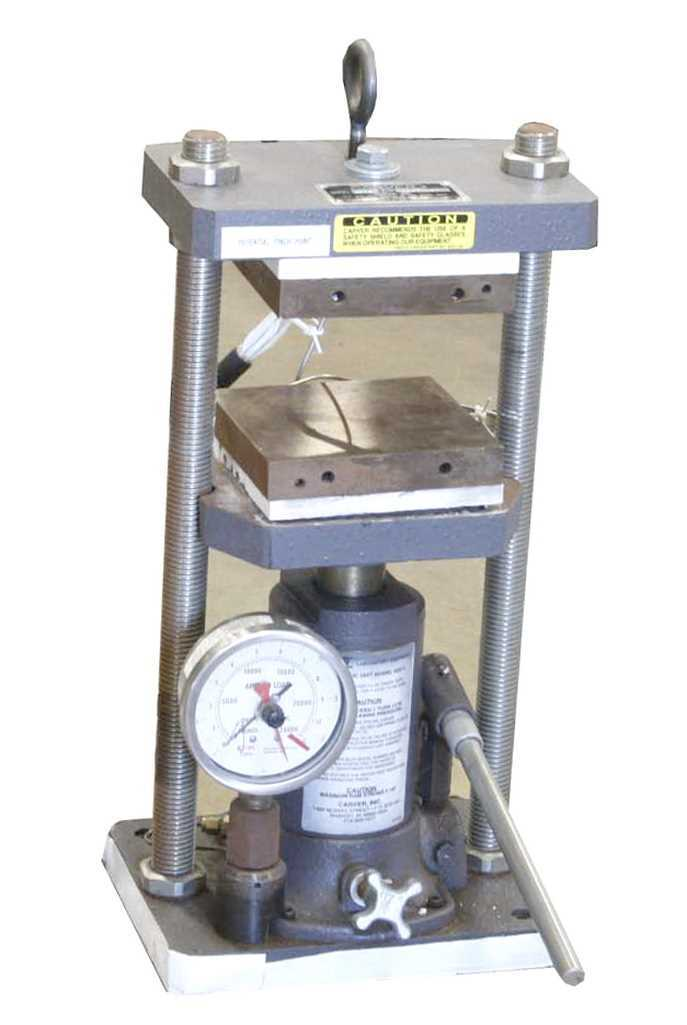 Photo of Carver Hydraulic Laboratory Press for sale from Hitechtrader.com