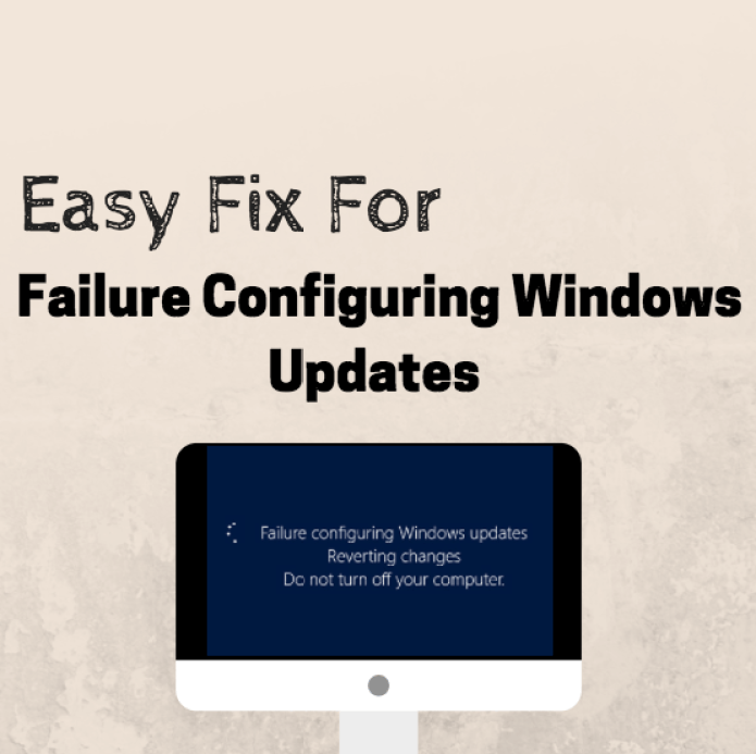 fix for Failure Configuring Windows Updates