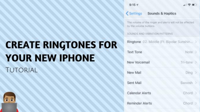 create your iphone ringtone