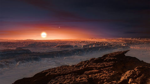 Sun's Neighbor an earth like planet is finally found