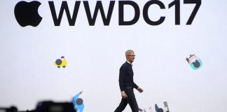Tim cook at WWDC 17
