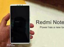 Xiaomi Redmi Note 5 Leaks in Press Renders, Full View ...