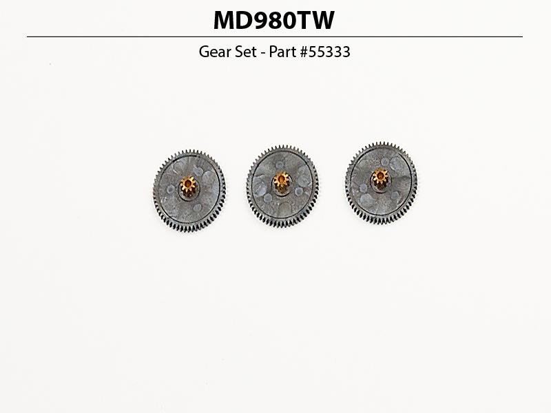 D-980TW 32-Bit, Monster Torque, Titanium Gear Servo