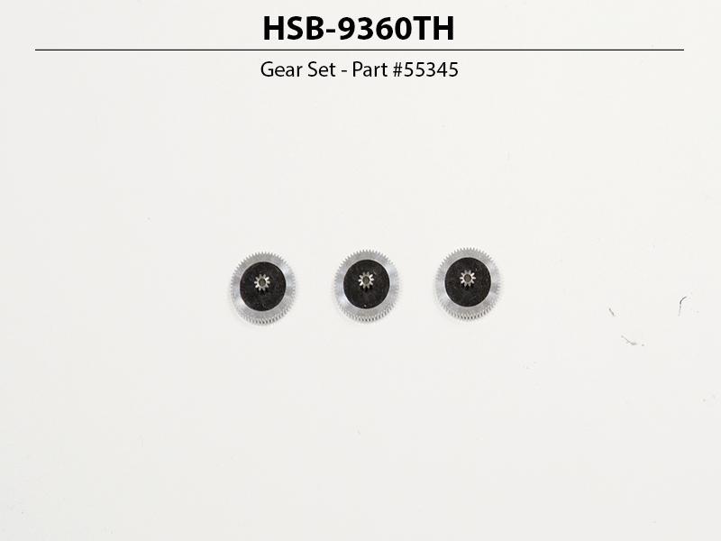 HSB-9360TH High Speed, Brushless, Titanium Gear Servo