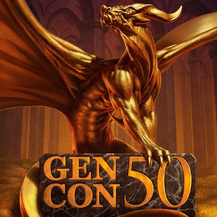 Gen Con 50th Anniversary Dragon