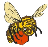 Bee Pin example image for Gen Con