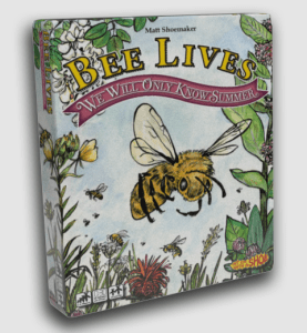 Rendering of the game box for Bee Lives We Will Only Know Summer