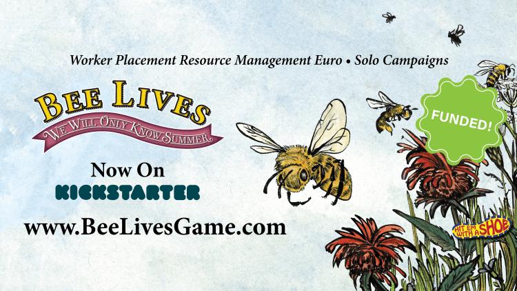 Bee Lives Kickstarter Banner