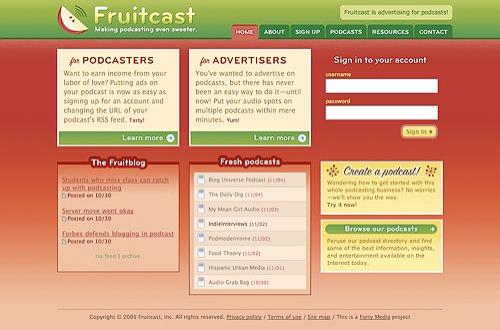 fruitcast