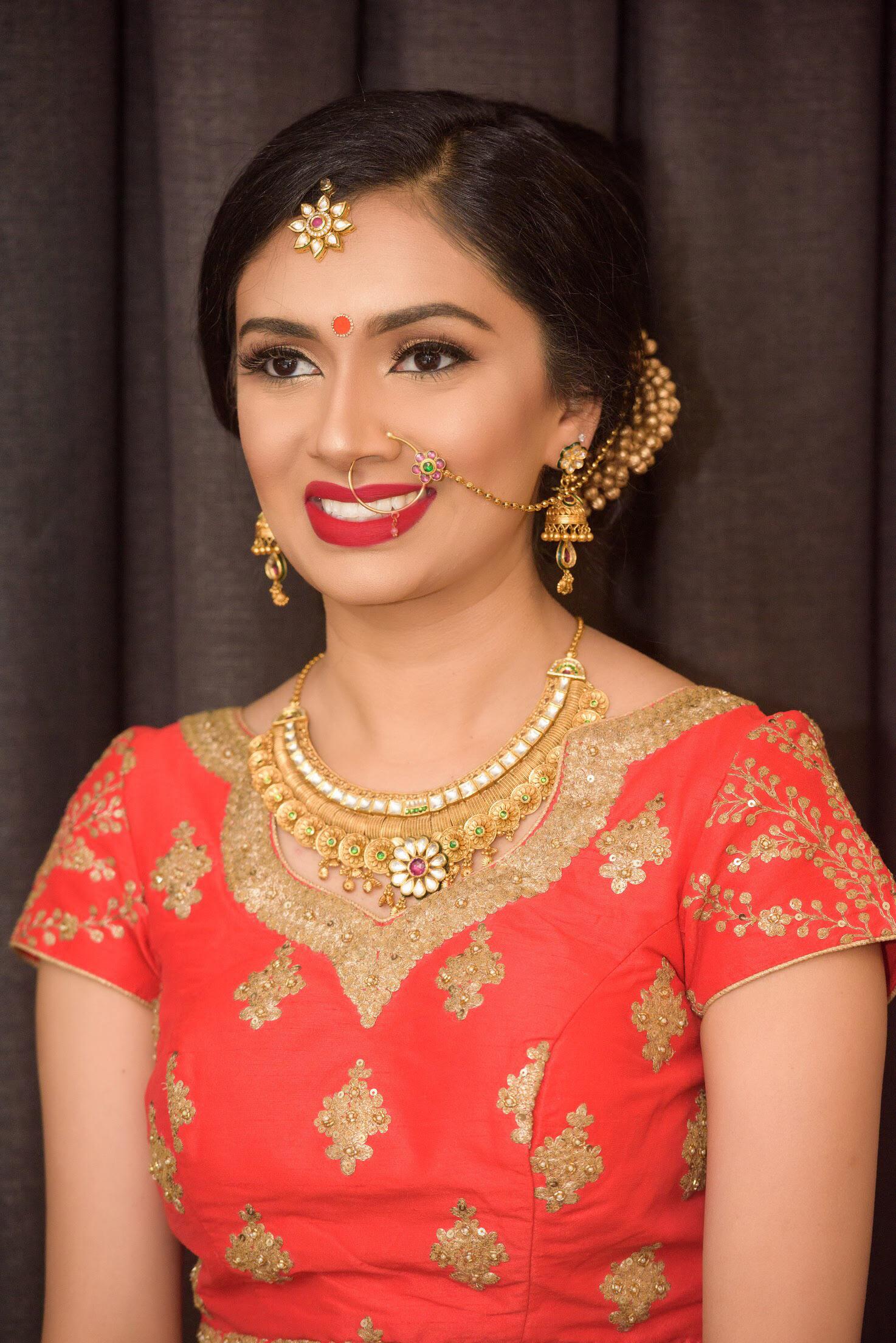 Tina Shah Wedding And Reception Portraits