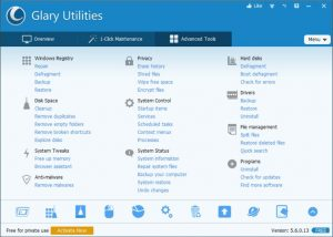 Glary Utilities Pro 5.92 Crack With Serial & License Key Free Download