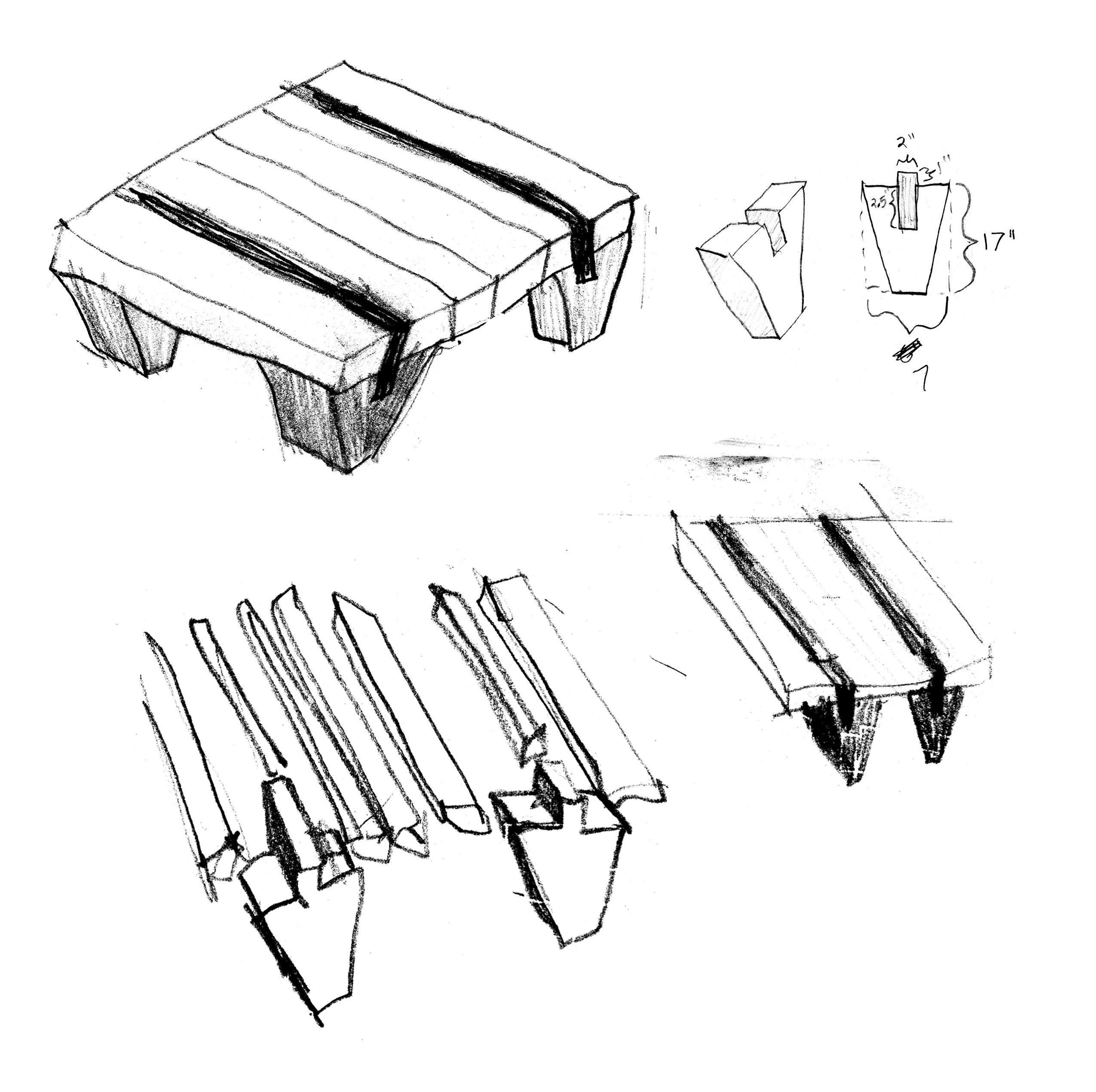 Coffee Table Construction Method Woodworking