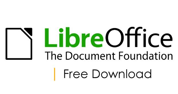 LibreOffice Free Download Freeware For Windows & Macintosh OS