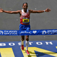 Meb Keflezighi win Boston Marathon