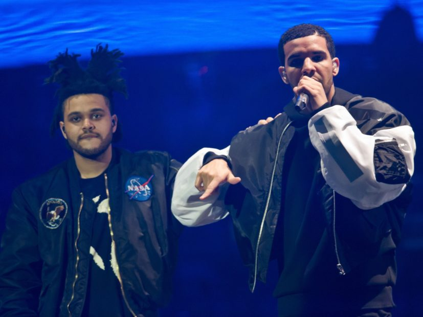 The Weeknd Accused Of Dissing Drake On Lost In The Fire Single