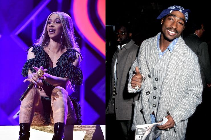 """Suge Knight Labels Cardi B """"Tupac In A Skirt,"""" Pitches """"Bardi x Makaveli"""" Music"""
