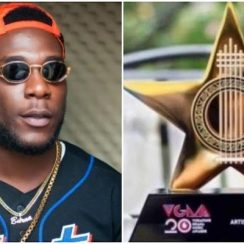 Burna Boy Is Crowned African Artist Of The Year At VGMAs