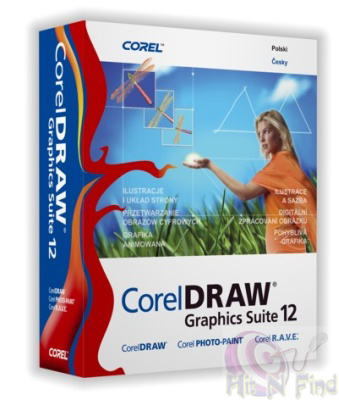 Corel Draw 12 Free Graphics Suite