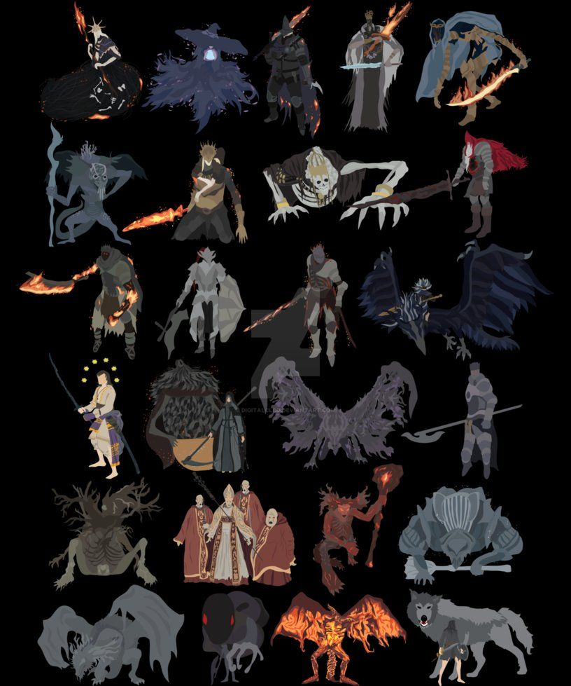bosses of Dark Souls 3