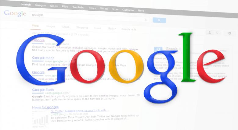 検索エンジン、検索結果、Google
