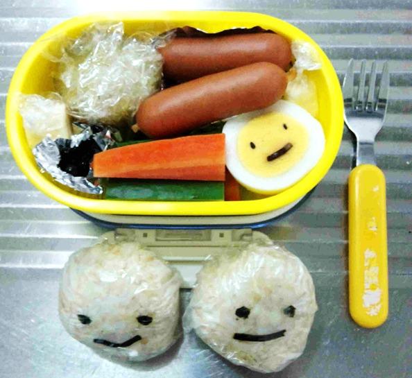 小学1年生のお弁当