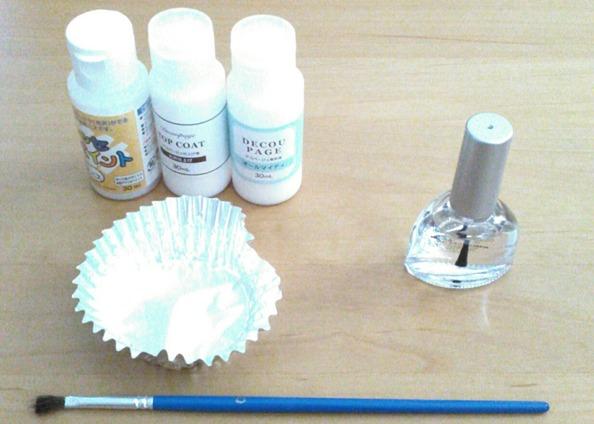 トップコートを折り紙コーティングに使うために!