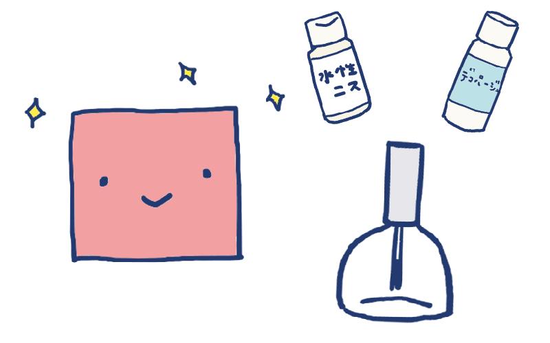 折り紙のコーティングにトップコートを活かしたい...!