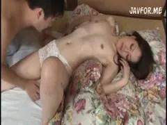三十路美熟女妻が和室で濃密セックスのひとずま動画像