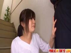 サボりがバレた美乳美人妻のひとずま動画