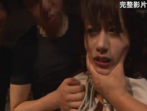 激カワ美巨乳若妻がガチレイプをされ号泣!正常位でおまんこをハメられてやめてを連呼してるひとずま動画