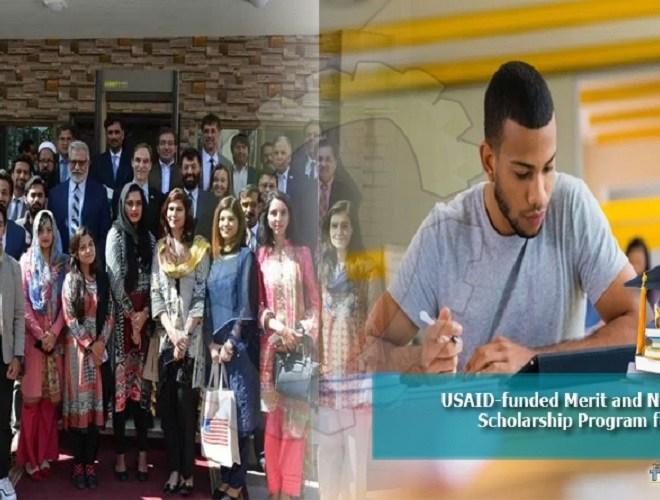 PAK USAID Merit & Need Based Scholarship Program 2021