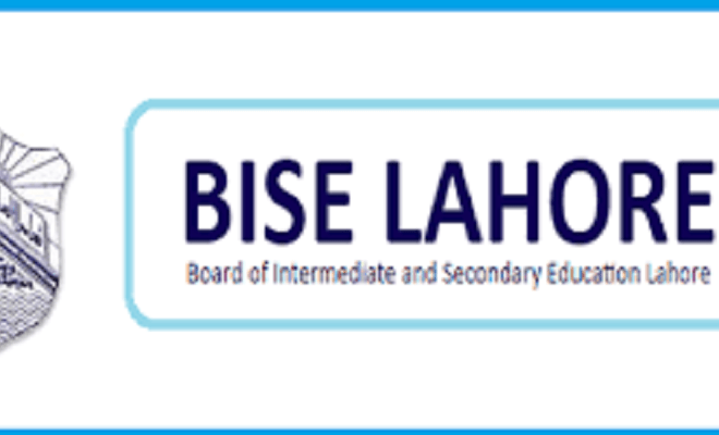 BISE Lahore Board Matric 10th Class Date Sheet 2021