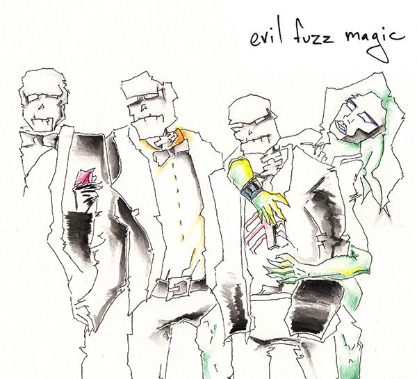 evil fuzz magic album cover