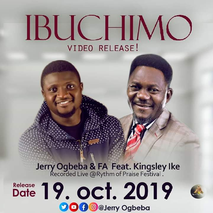 Artwork of Ibuchimo by Pst Jerry Ogbeba ft Kingsley Ike