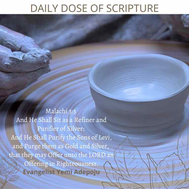 Daily Dose of Scripture by Evang. Yemi Adepoju