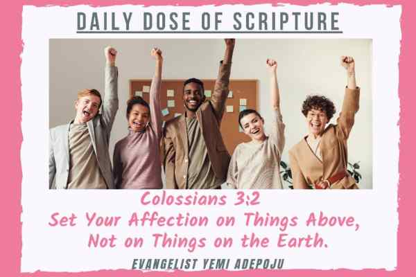 Daily Dose of Scripture Verse