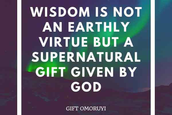 Grace Words: Wisdom