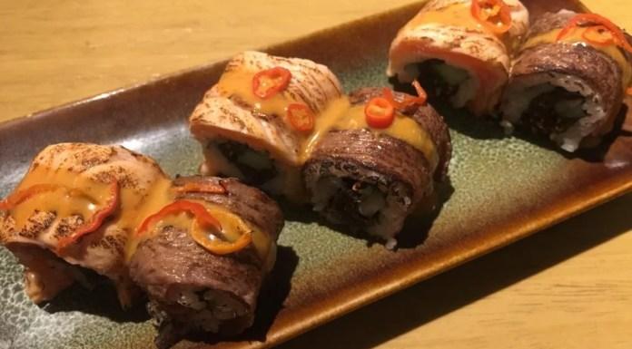 Evolution Roll di Sushi Groove. Image: @Nurulamanaf