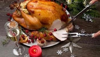 Menu istimewa Roated Turkey. (Image: Google)