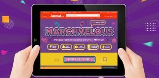 Jakmall.com hadirkan Marchvelous untuk Generasi Milenial di Indonesia