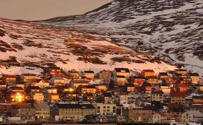 Hurtigruten Stop In Honningsvag Norway Offers Stunning Views