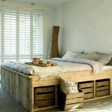 Ретро спалня за вашият дом