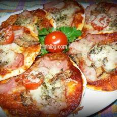 Мини пици - изпробвана рецепта!